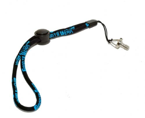"Hand Wrist Strap Adjustable Lanyard & 1/4"" Screw for all 1/4"" Threaded Devices"